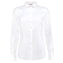 WOMEN'S WHITE TWILL FITTED SHIRT - SINGLE CUFF - PRINCE'S TRUST