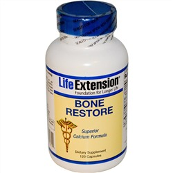 Life Extension, Bone Restore, 120 капсул