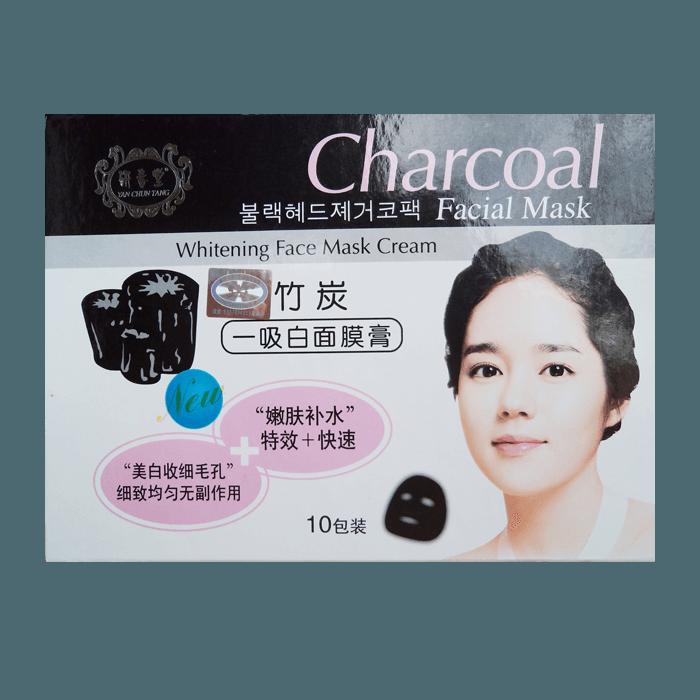маска из черного угля