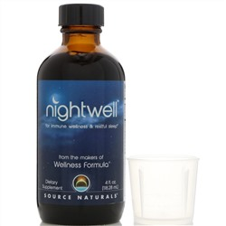 Source Naturals, Nightwell, 4 ж. унц.(118,28 мл)