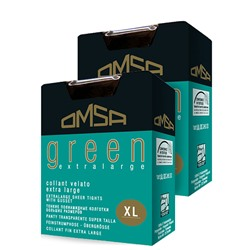 Колготки Omsa GREEN 20 Extralarge XL (6) | Nero (Черный)